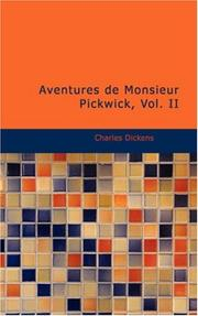 Aventures De Monsieur Pickwick, Vol. II